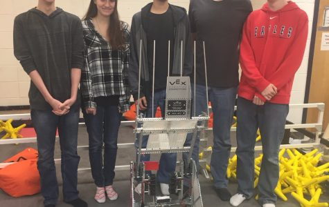 OMHS Students Win Big at Vex Competition