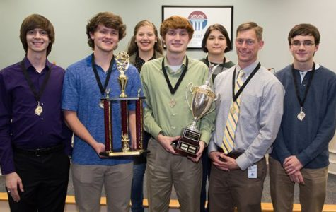 Scholar's Bowl Team Takes County Title