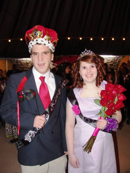 OMHS Senior Named King at Countywide Multi-Needs Prom