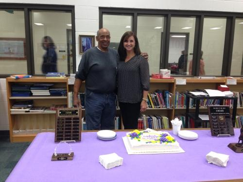 Oak Mountain Elementary Proudly Honors Lancaster and Davis