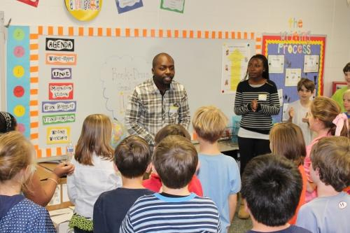 OMES Gifted Students Hold Book Drive