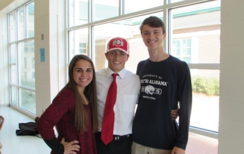 From High School to College Sports: Three Students Sign Scholarships
