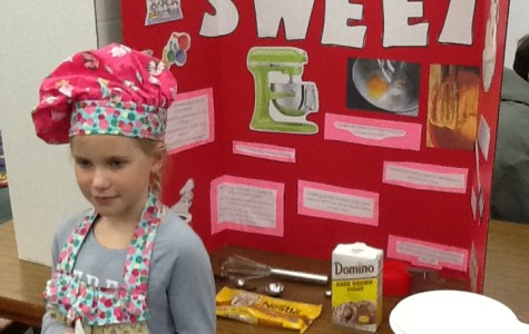 OMES Students Hold Math Fair