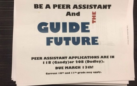 Oak Mountain Peer Assistant Applications Now Available