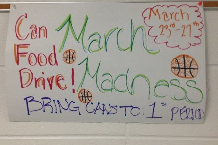 Key Club to Hold March Madness Food Drive