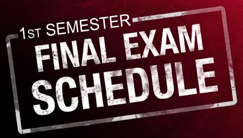 Semester Exams Approaching With New Schedule