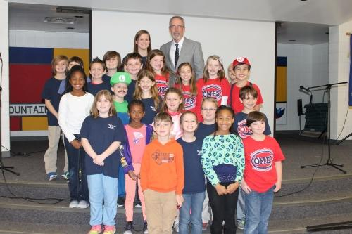 Dr. Bice Helps Oak Mountain Elementary Gear Up for the Hour of Code