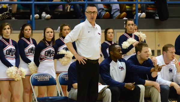 Oak Mountain head basketball coach Chris Love led the Eagles to a 25-8 record and a 7A Elite Eight appearance in 2015-16, and is the Coach of the Year in Shelby County. (File)