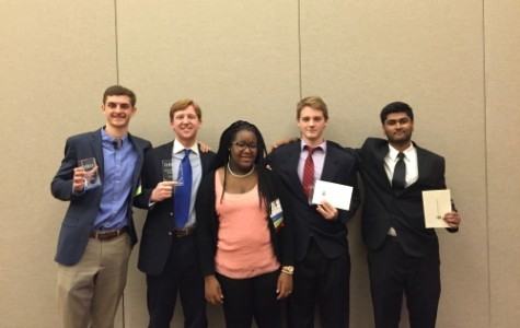 DECA Students Take Top Honors at State Conference