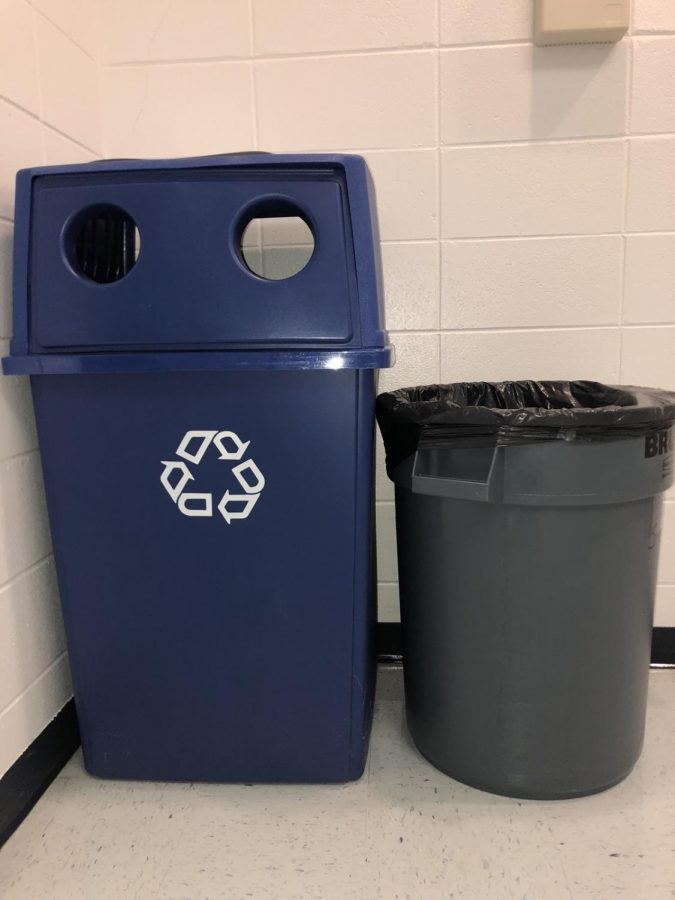 School Wide Recycling Program Leaves OMHS