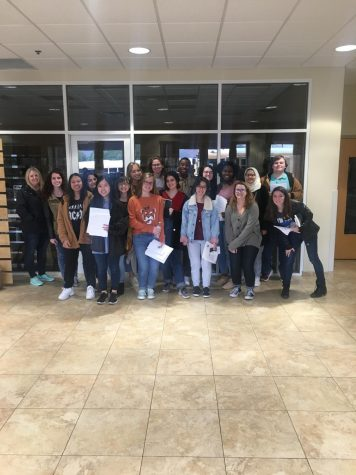 OMHS Students Attend The Write Connection